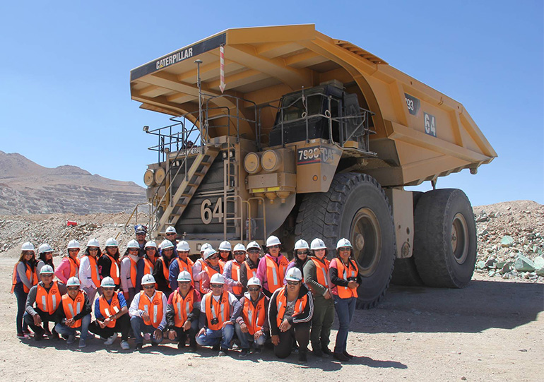 As part of the Company's Community Visits Program, members of the Atacama indigenous community visited El Abra to learn about the site's operations, community programs and sustainability practices.