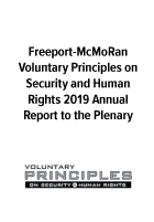 Voluntary Principles on Security and Human Rights 2019 Annual Report to the Plenary